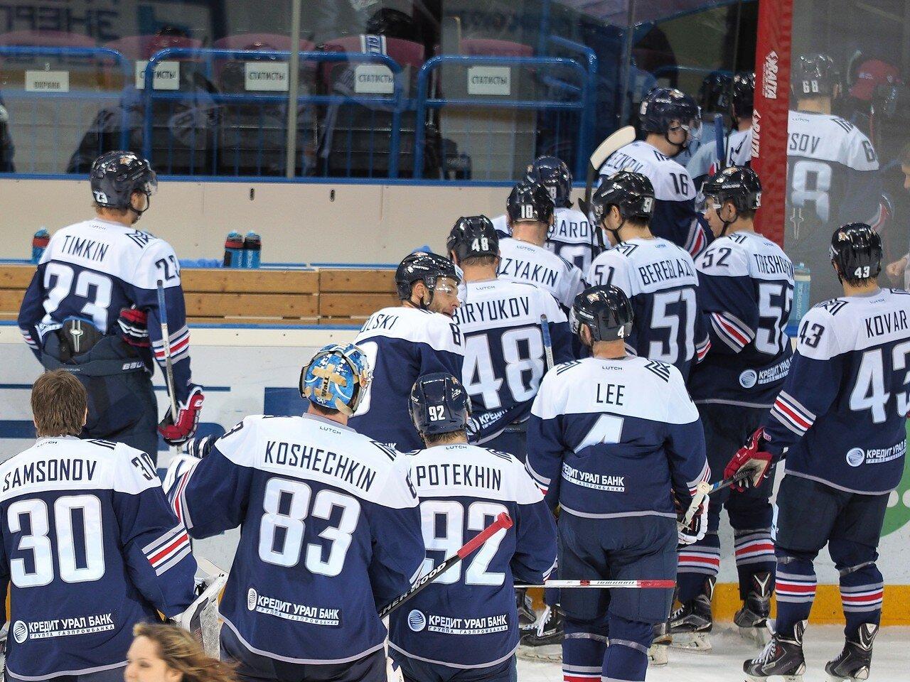 138Восток 1/2 плей-офф Металлург - Сибирь 08.03.2016