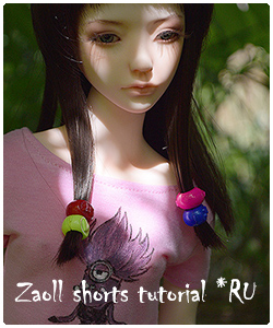 Zaoll shorts tutorial with patterns