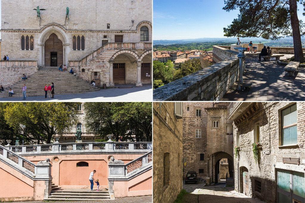 Перуджа фото и достопримечательности. Что посмотреть в Перудже. Как добраться до Перуджи.