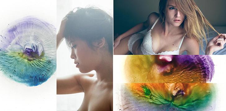 Картины грудью в проекте «Соски Венеры»