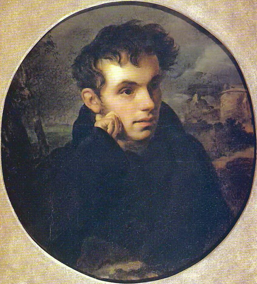 Портрет поэта В. А. Жуковского, 1816