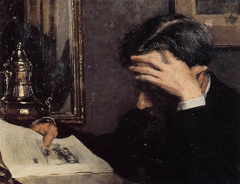 MAN READING Жорж Леммен