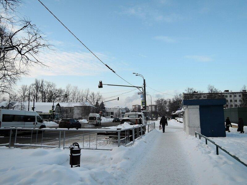 Одинцово. Улица Маршала Жукова