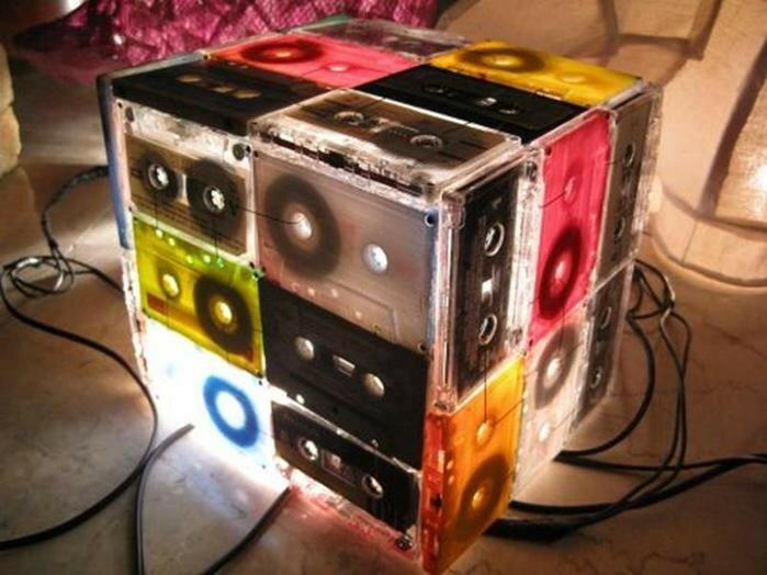 Что можно сделать из старых видеокассет