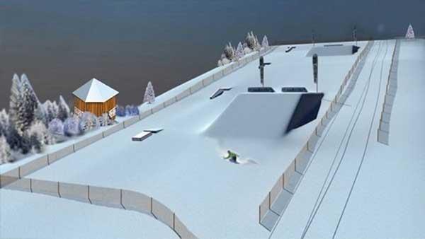 Горнолыжный комплекс у трамплина построит федерация горнолыжного спорта