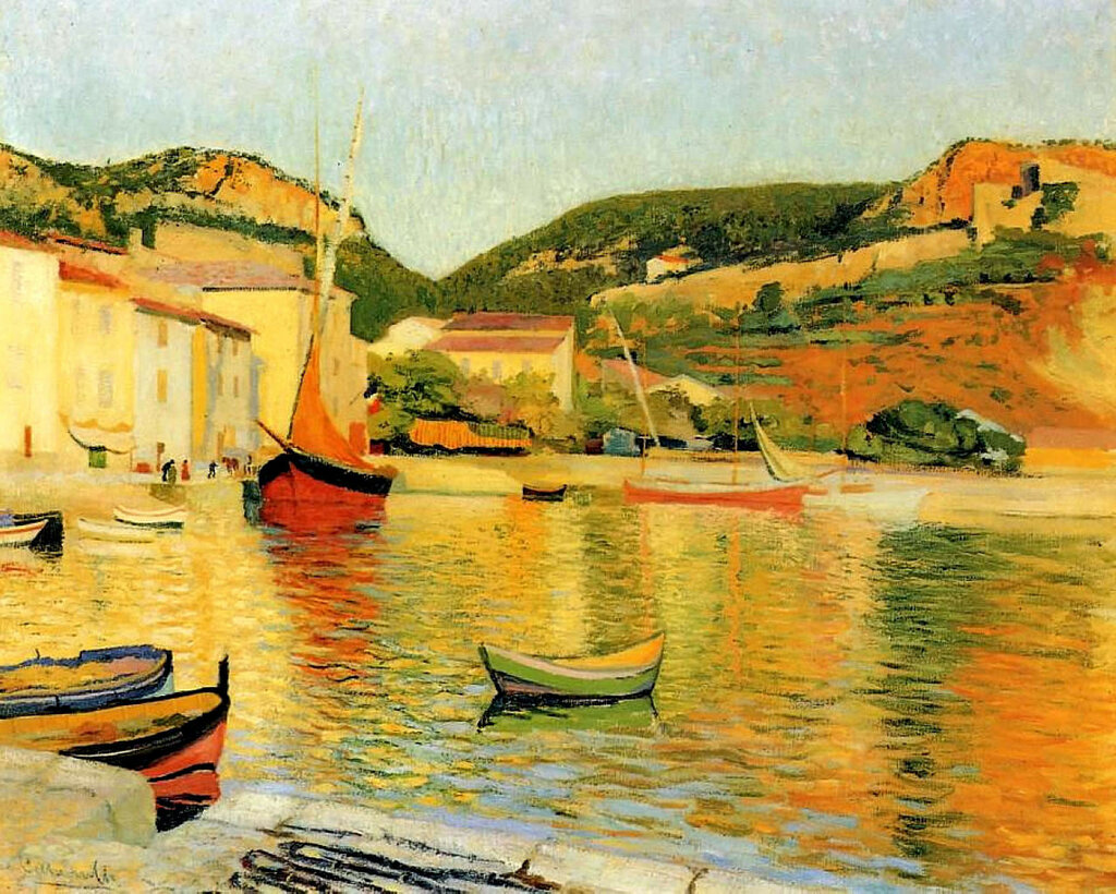 Charles Camoin - The Port of Cassis, 1901.jpeg