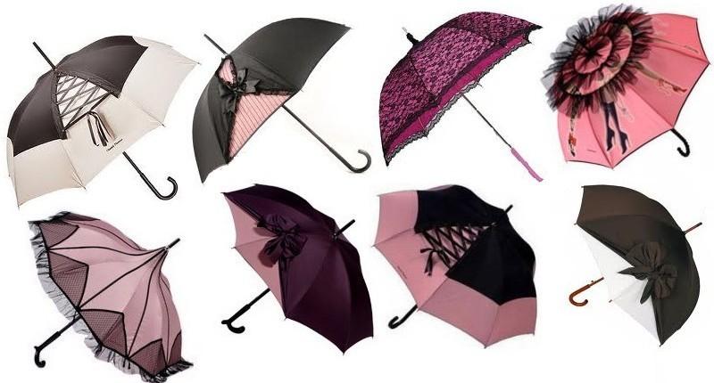 11. Женский зонт Коллекция замечательных женских зонтиков с кокетливым дизайном от компании Guy de J