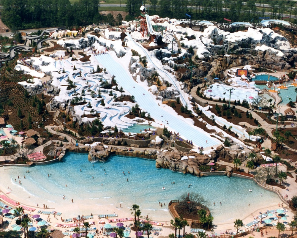 Walt Disney World, CША. Длина горки— 110м.