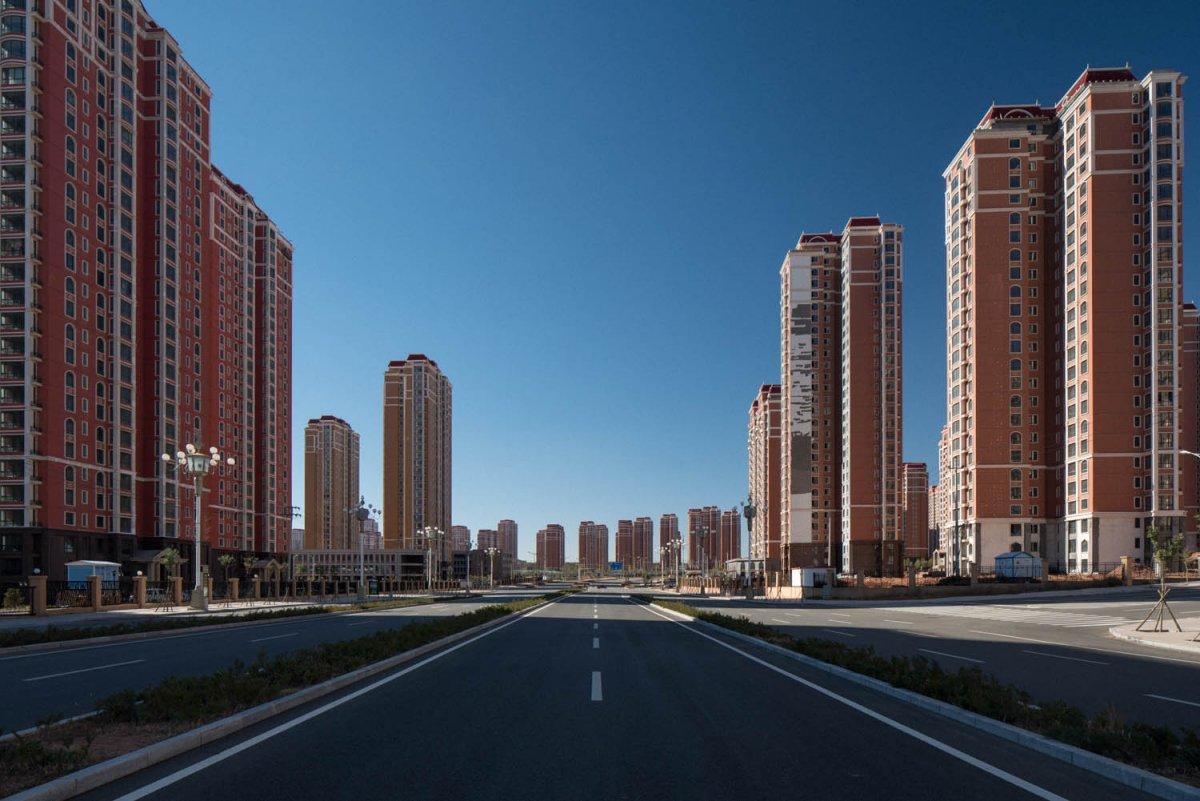 Ордос – китайский «город будущего», который превратился в крупнейший город-призрак (12 фото)