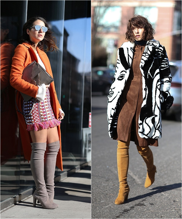 How to Wear High Boots: Streetstyle from New York Fashion Week Fall/Winter 2016-2017 photo 5