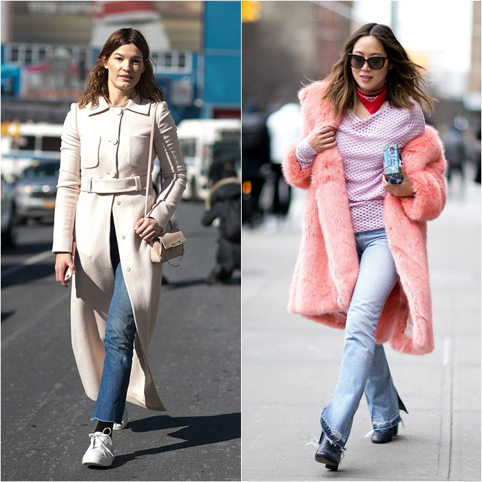 How to Wear Jeans with a Coat: Street Style picture 3