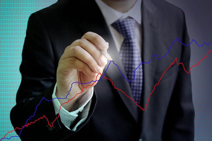 Индекс ММВБ поднялся выше отметки в1800 пунктов