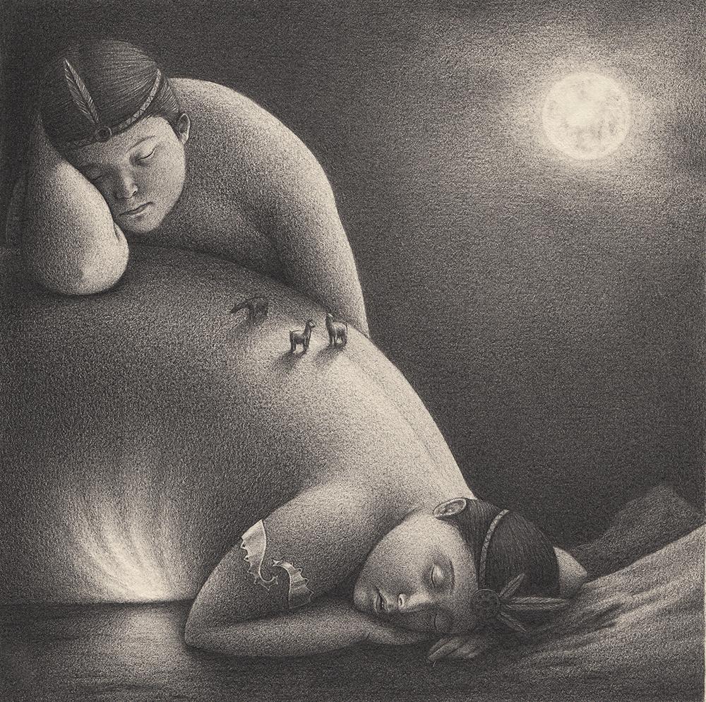The Black and White Anthropomorphic Illustrations of David Alvarez