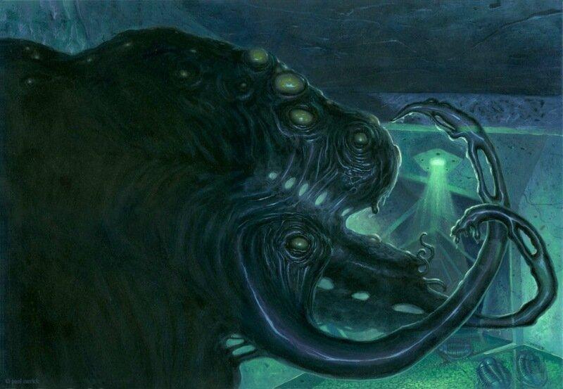 Ктулху и его жуткая компания существ, созданных Говардом Лавкрафтом