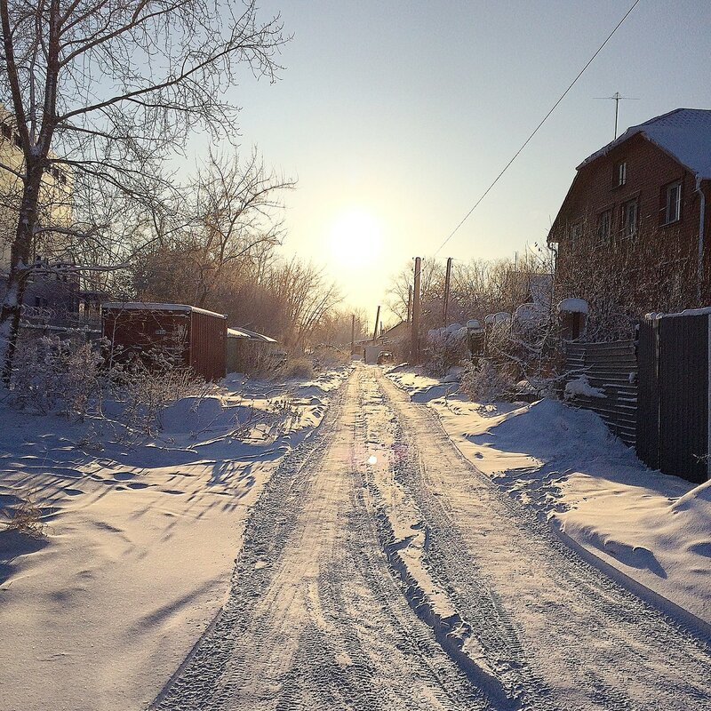 Печерская зимой 16
