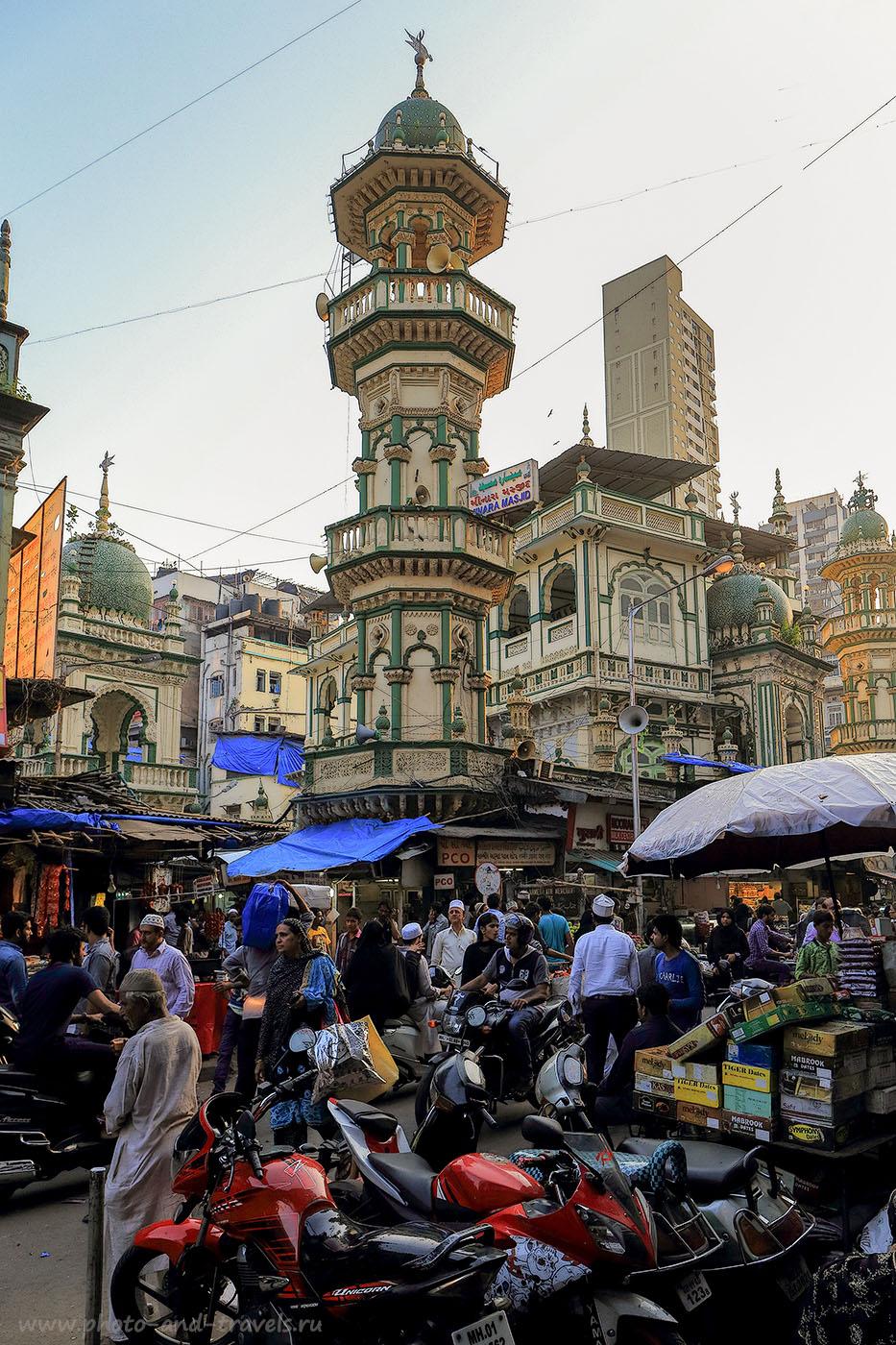 Фото 9. Мечети в Мумбаи. Самостоятельный отдых в Индии. Отзывы туристов из России (24-70, 1/320, -1eV, f8, 24 mm, ISO 640)