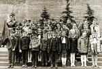 Красная площадь приём в пионеры 1974 год 5 школа,Солнцево. фото Владимир Журавлёв #Солнцево