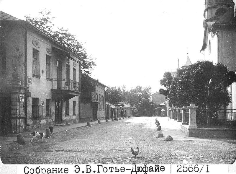 16987 Кудринский тупик. ц. Покрова Б.М. в Кудрине Готье-Дюфайе 1914.jpg