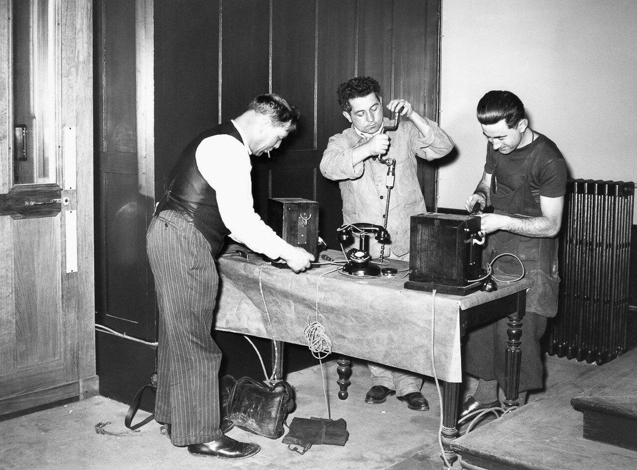 38. Специальные телефонные линии, установленные в здании суда