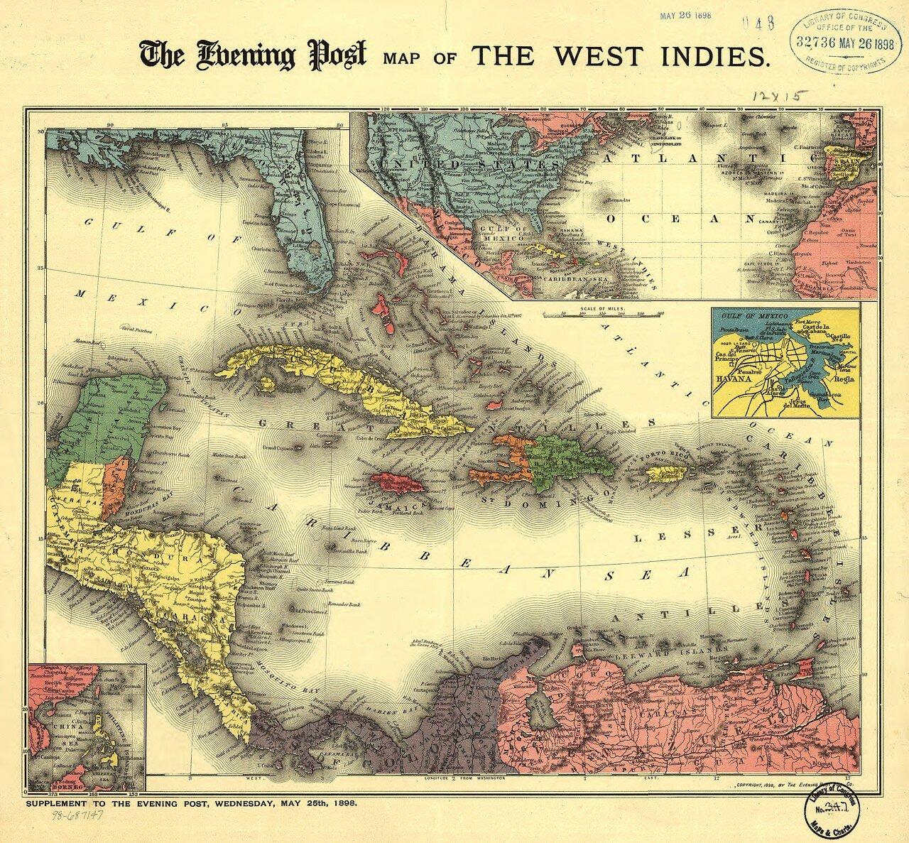1898. Карибское море