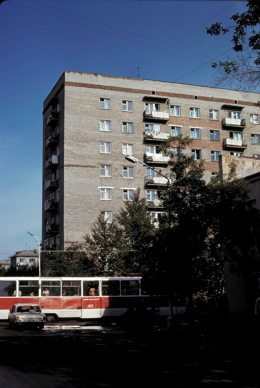 Омск. Жилые дома
