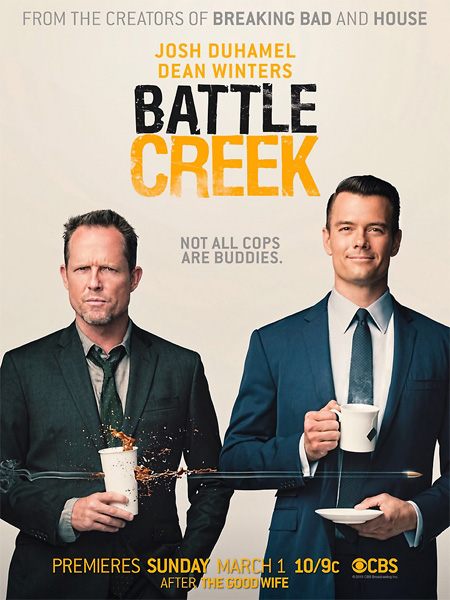 Батл Крик / Battle Creek - (1 сезон: 1-13 серии из 13) [2015, WEB-DLRip | WEB-DL 720p | WEB-DL 1080p] (NewStudio)