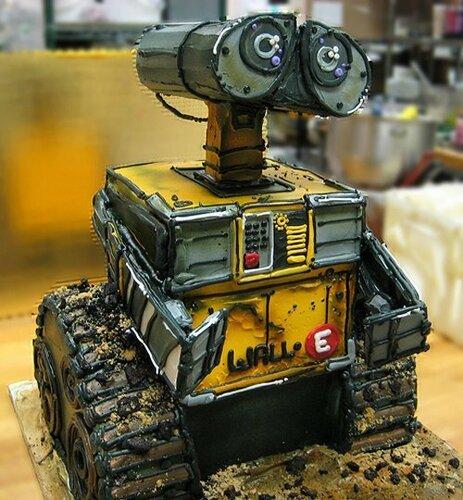 Торт робот как сделать фото