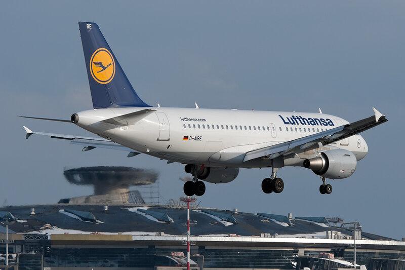 Airbus A319-112 (D-AIBE) Lufthansa DSC_9837