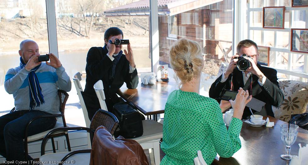 МегаФон, Тверь, фотовыставка, кафе Причал