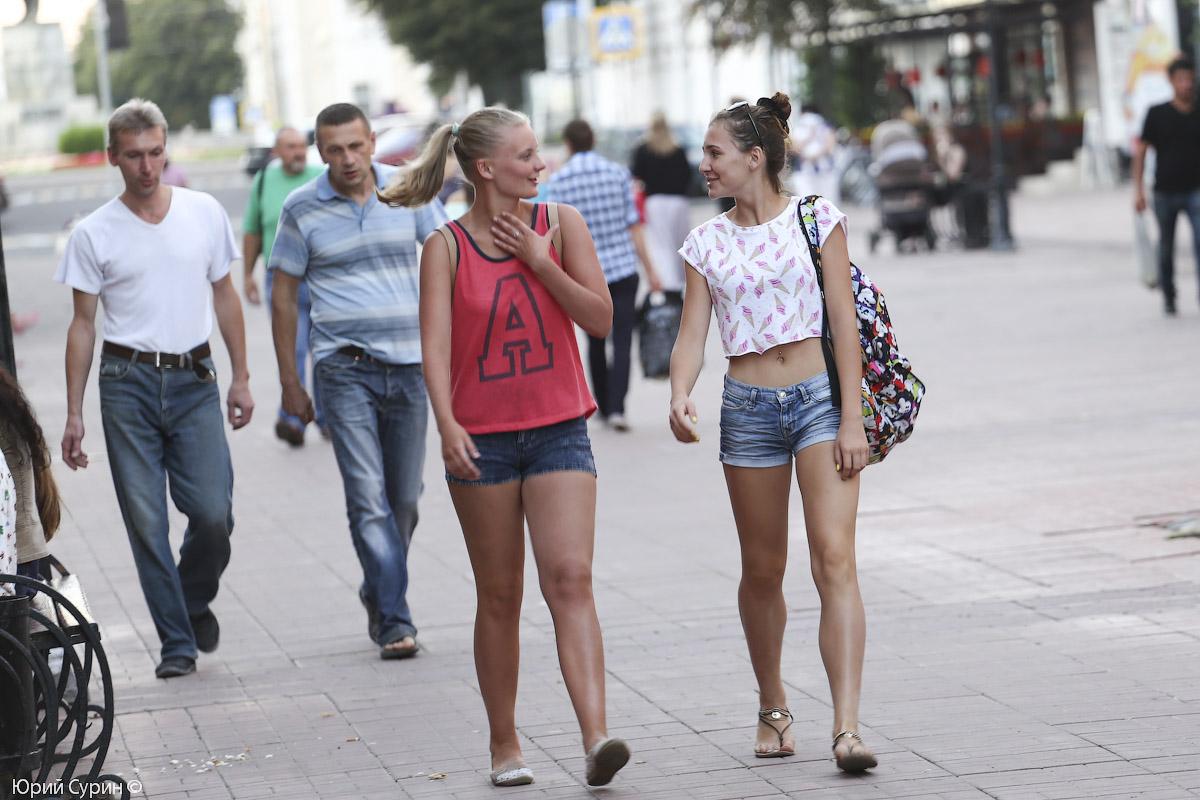 случайные фото москвичек