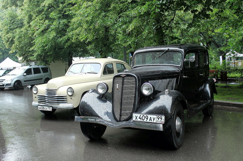 Retrofest at Sokolniki - Russian cars