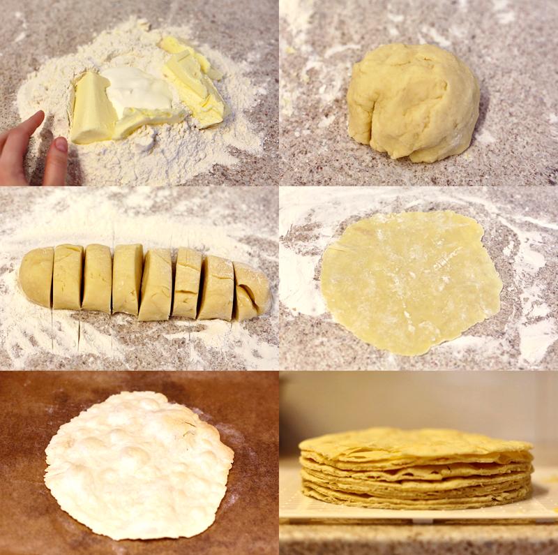 Торт Наполеон - пошаговый рецепт с фото #3.