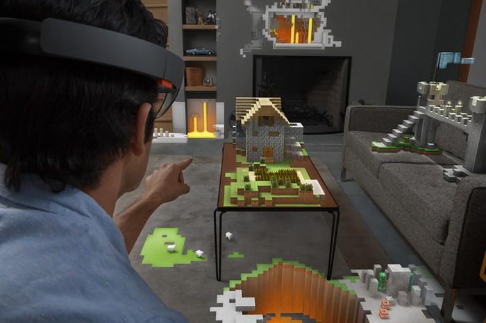 Очки дополненной реальности от Майкрософт