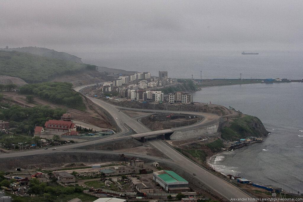 Владивосток с высоты не птичьего