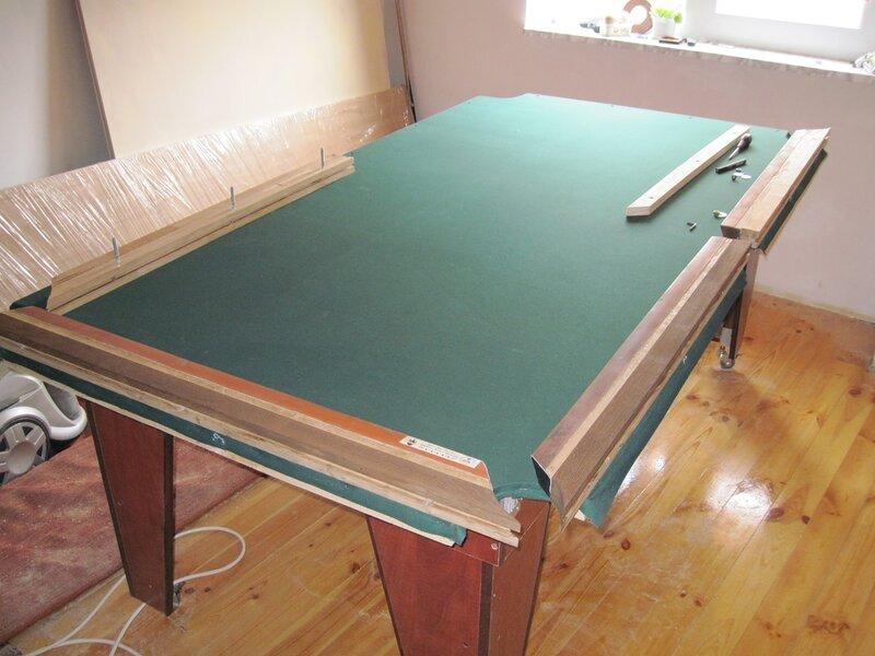 Как самого сделать бильярдный стол 602