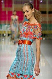 В лучах солнца - платье от Лауры Бьяджотти весна-лето 2008 Наши воплощения
