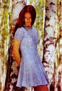 Голубое платье, ностальгия по прошлому Наши воплощения