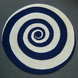 Юбка цветной спиралью