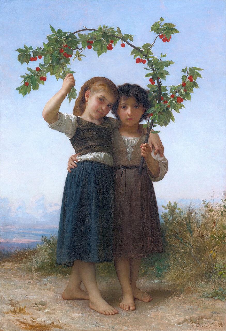 La branche de cerisier