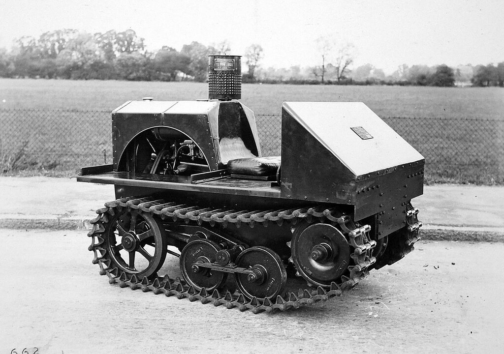 Vickers Carden-Loyd Utility tractor, 1928