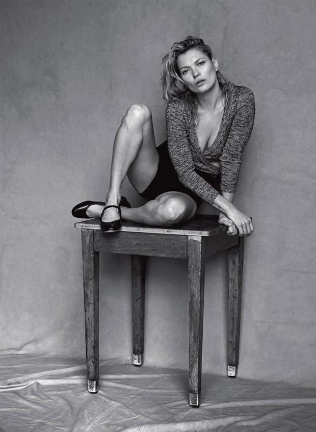 Кейт Мосс (Kate Moss) в журнале Vogue Italia (13 фото)