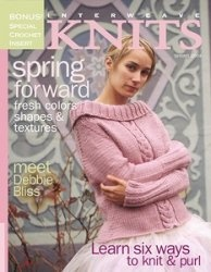 Журнал Interweave Knit Spring Forward 2004