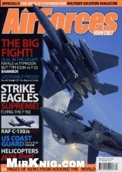 Журнал Air Forces Monthly - April 2010