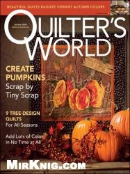 Журнал Quilter' s World - October 2006
