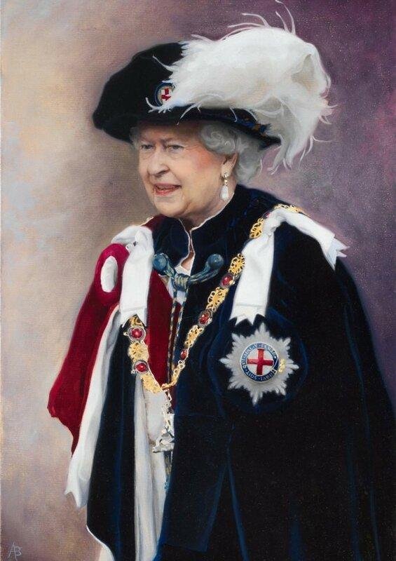 Queen Elizabeth II Record Reign portrait 2015