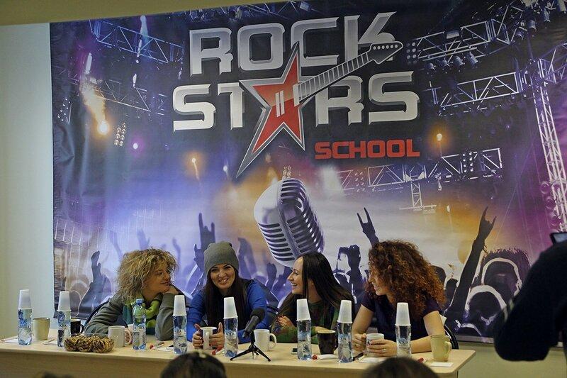 Пресс-конференция арт-группы «Soprano Турецкого» в школе рока Rock Stars school Киров