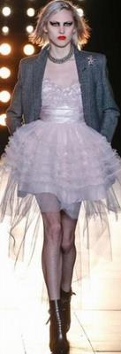 Модное платье на осень