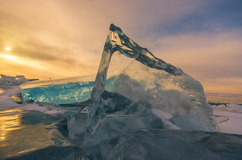 Лёд на рассвете
