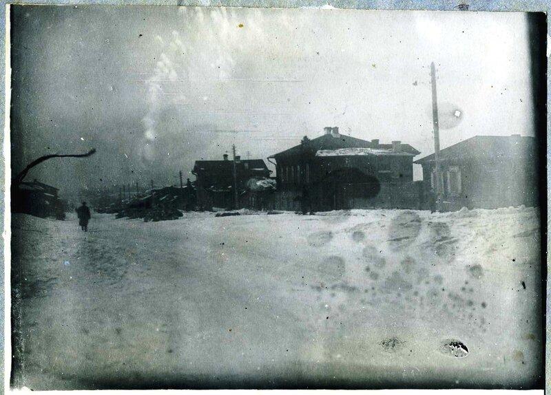 Улица Всеобуча (Сталина, Российская) в Челябинске, 1936 год