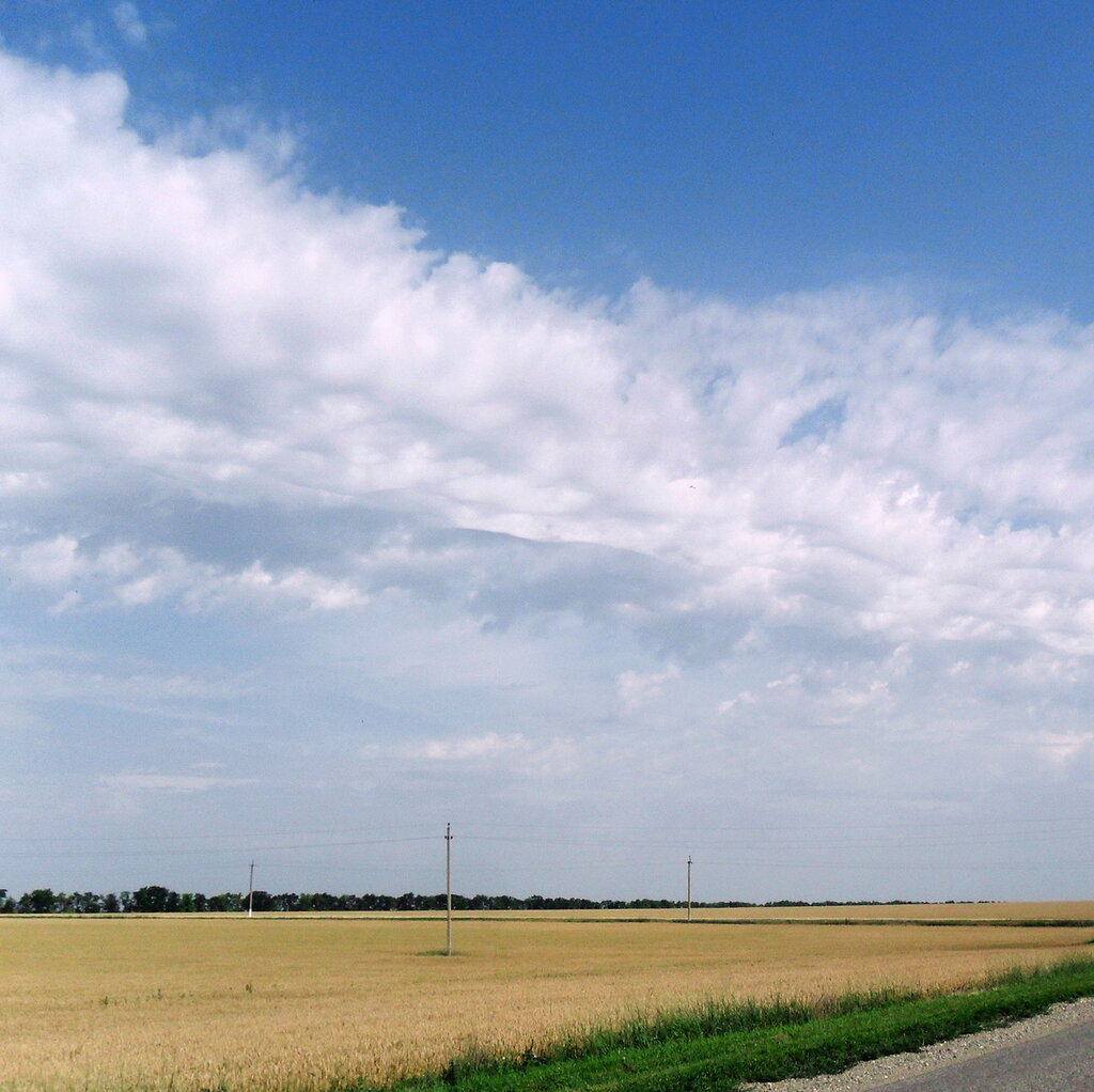 Летним днём, в дороге